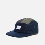 Кепка Kommon Universe Global 5 Panel Navy/Grey/Olive фото- 1