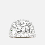 Lacoste Live 5-Panel Printed Cap Flour/Black photo- 0