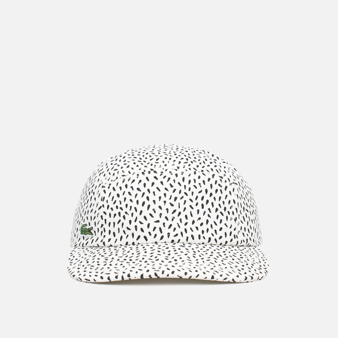 Кепка Lacoste Live 5-Panel Printed Flour/Black