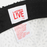 Lacoste Live 5-Panel Printed Cap Flour/Black photo- 5