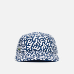 Кепка Lacoste Live 5-Panel Printed Navy/White фото- 0