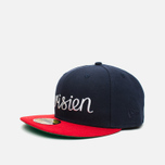 Maison Kitsune x New Era Parisien 59Fifty Cap Navy/Red photo- 1