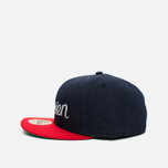 Maison Kitsune x New Era Parisien 59Fifty Cap Navy/Red photo- 2