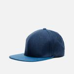 Кепка Nanamica Linen Navy/Blue фото- 1