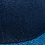 Кепка Nanamica Linen Navy/Blue фото- 4