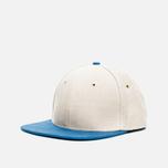 Nanamica Linen Cap Tan/Blue photo- 1