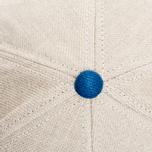 Nanamica Linen Cap Tan/Blue photo- 3