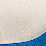 Nanamica Linen Cap Tan/Blue photo- 4