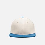 Nanamica Linen Cap Tan/Blue photo- 0