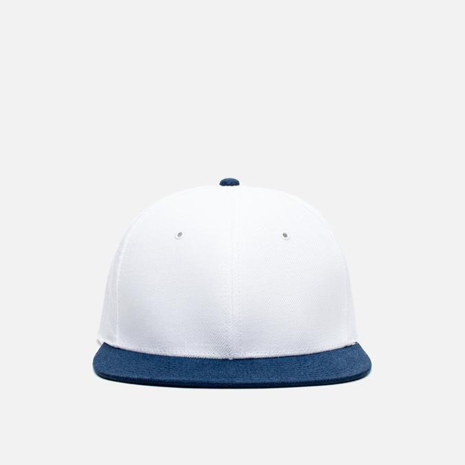 Кепка Nanamica Linen White/Navy