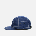 Кепка Norse Projects Grid Linen 5 Panel Navy фото- 2