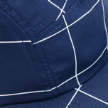 Кепка Norse Projects Grid Linen 5 Panel Navy фото- 3