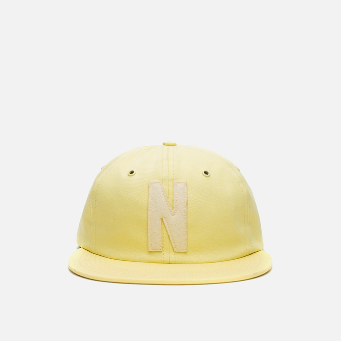Кепка Norse Projects Twill 6 Panel N Logo Lemon Freeze