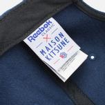 Кепка Reebok x Maison Kitsune Strapback Navy фото- 5