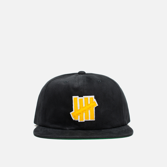 Кепка Undefeated 5 Strike Strapback Black