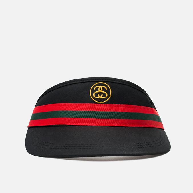 Женская кепка Stussy Monte Carlo Visor Black