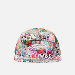 Женская кепка Stussy World Tribe Snapback Coral фото- 0