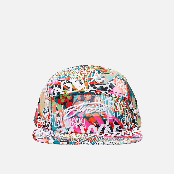 Женская кепка Stussy World Tribe Snapback Coral