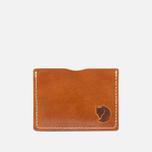 Держатель для карточек Fjallraven Ovik Leather Cognac фото- 3