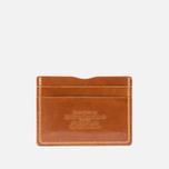 Держатель для карточек Fjallraven Ovik Leather Cognac фото- 0