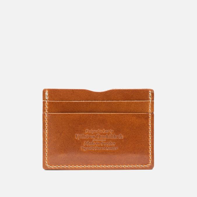 Держатель для карточек Fjallraven Ovik Leather Cognac