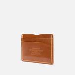 Держатель для карточек Fjallraven Ovik Leather Cognac фото- 2