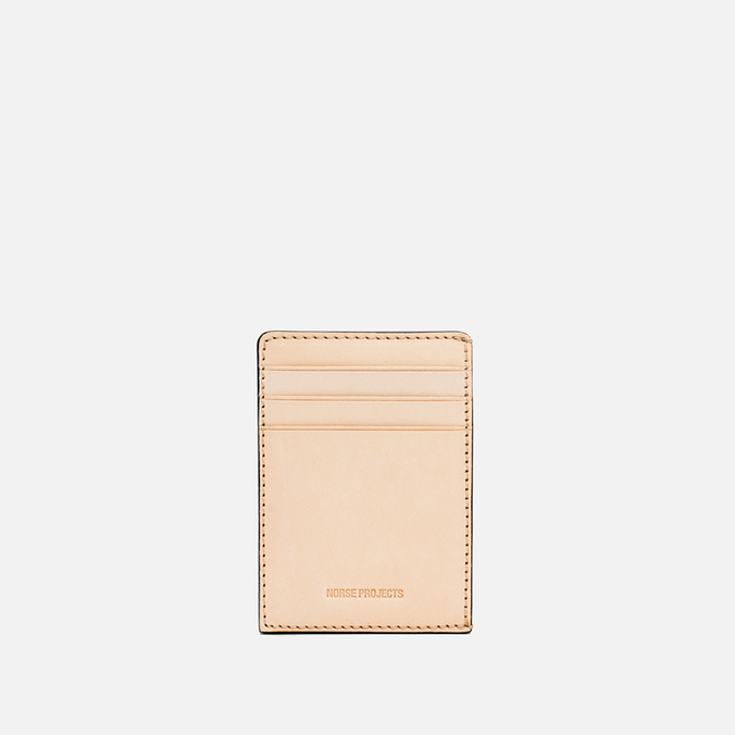 Norse Projects Bastian 7 Cardholder Natural
