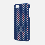 Чехол Hackett Dots Hard iPhone 5 Navy/Red фото- 1