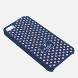 Чехол Hackett Dots Hard iPhone 5 Navy/Red фото- 2