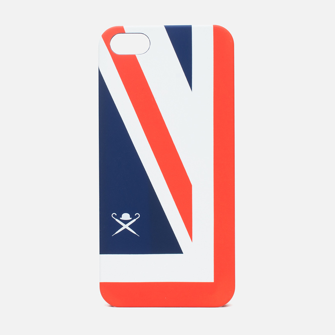 Чехол Hackett Union Jack Hard iPhone 5 Navy/Red/White
