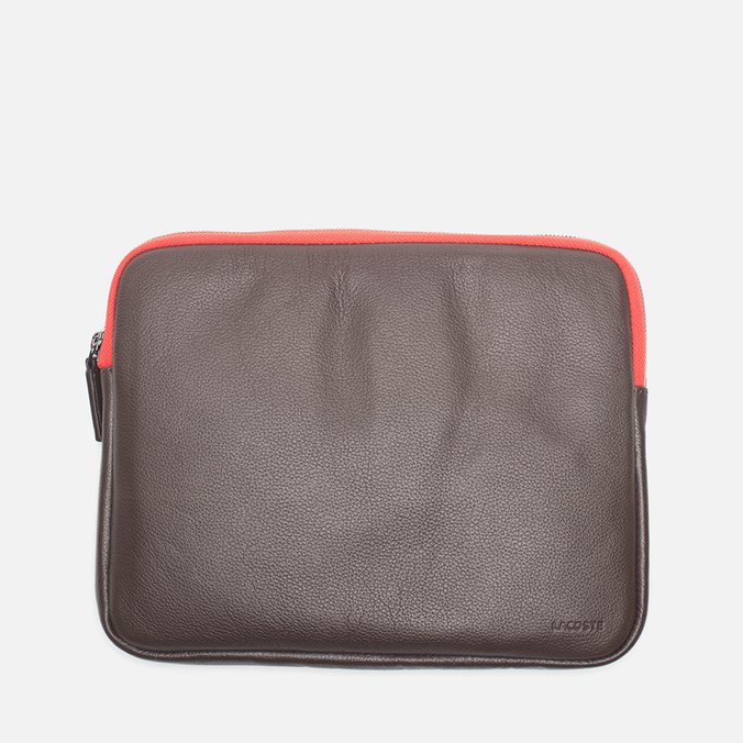 Чехол Lacoste Ethan iPad Case Dark Brown/Orange