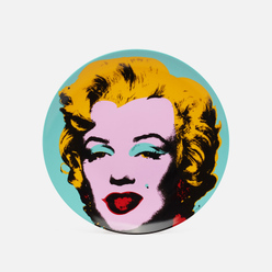 Тарелка Ligne Blanche Andy Warhol Blue Marilyn Medium