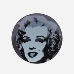 Тарелка Ligne Blanche Andy Warhol Black Marilyn Medium