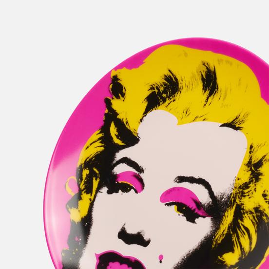Тарелка Ligne Blanche Andy Warhol Pink Marilyn Medium
