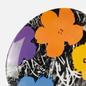 Тарелка Ligne Blanche Andy Warhol Flower Purple Medium фото - 2