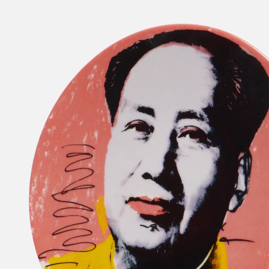 Тарелка Ligne Blanche Andy Warhol MAO Yellow Jacket Medium