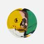 Тарелка Ligne Blanche Andy Warhol Skull Yellow/Pink/Green Medium фото - 0