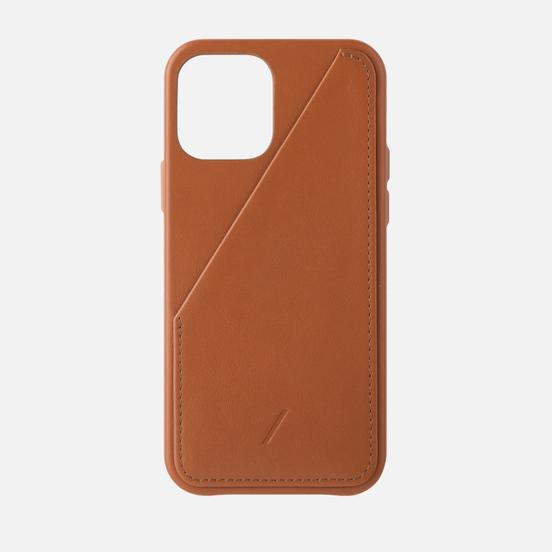 Чехол Native Union Clic Card iPhone 12/12 Pro Tan