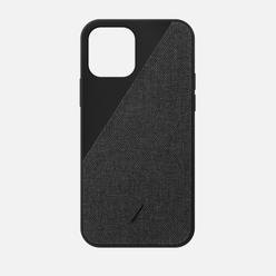 Чехол Native Union Clic Canvas iPhone 12/12 Pro Black