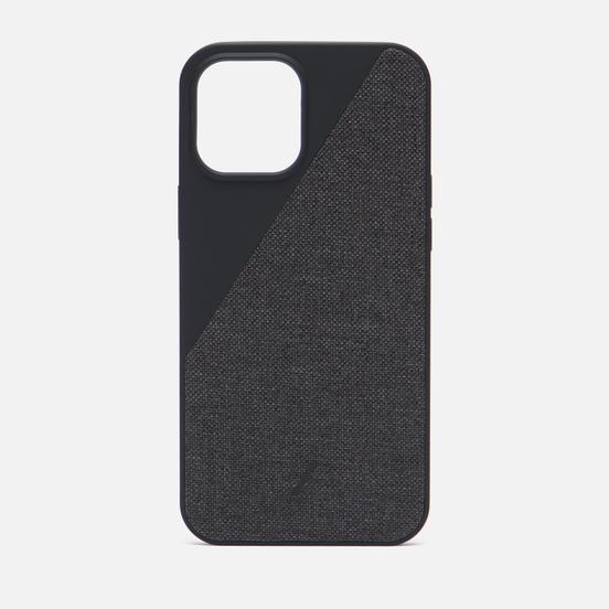 Чехол Native Union Clic Canvas Magnetic iPhone 12 Pro Max Black