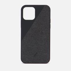 Чехол Native Union Clic Canvas Magnetic iPhone 12/12 Pro Black