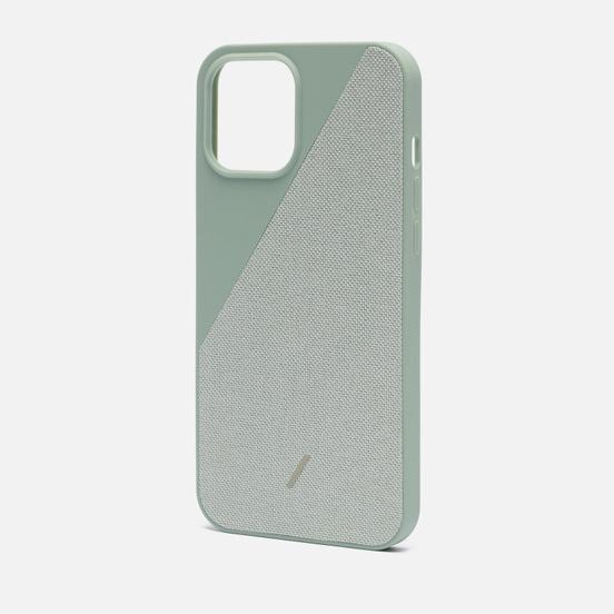 Чехол Native Union Clic Canvas Magnetic iPhone 12 Pro Max Sage