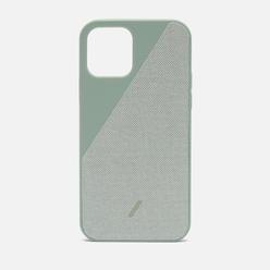 Чехол Native Union Clic Canvas Magnetic iPhone 12/12 Pro Sage
