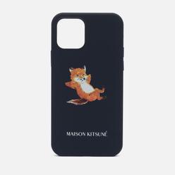 Чехол Native Union x Maison Kitsune Chillax Fox iPhone 12/12 Pro Blue