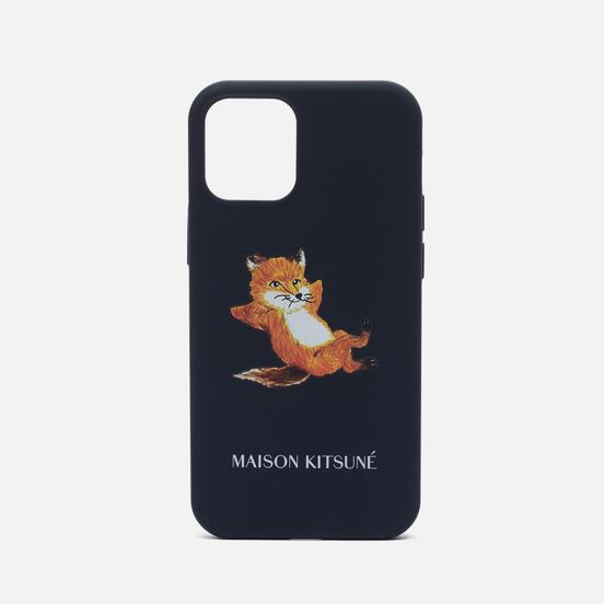 Чехол Native Union x Maison Kitsune Chillax Fox iPhone 12 Mini Blue
