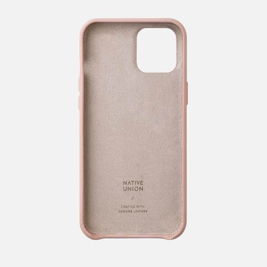 Чехол Native Union Clic Classic iPhone 12 Pro Max Rose
