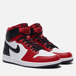 Кроссовки Jordan Wmns Air Jordan 1 Retro High OG Satin Snake Chicago Gym Red/Black/White