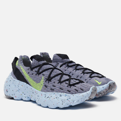 Кроссовки Nike Wmns Space Hippie 04 Grey/Volt/Black/Dark Smoke Grey
