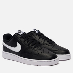 Кроссовки Nike Wmns Court Vision Low Black/White