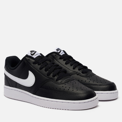Женские кроссовки Nike Wmns Court Vision Low Black/White